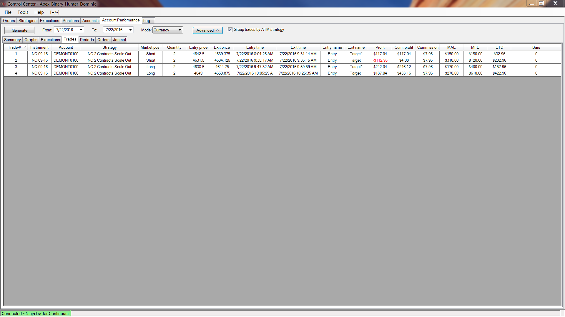 X3 trading system extension